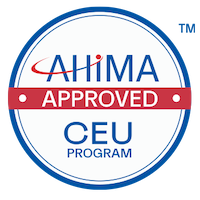 AHIMA APPROVED CEU PROGRAM