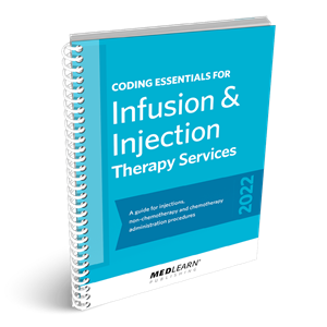 2019 Coding Essentials for Infusion & Injection Therapy Services